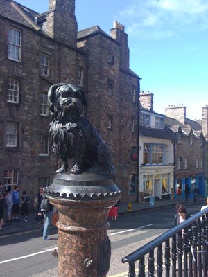 A Tourist Attraction at Edinburgh