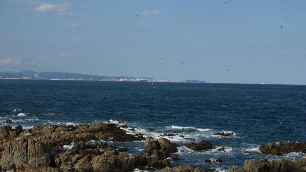간절곶 바다