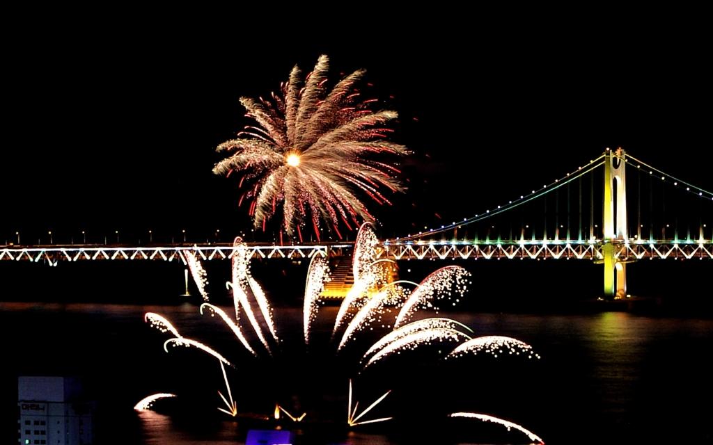 부산불꽃축제 사진 2010