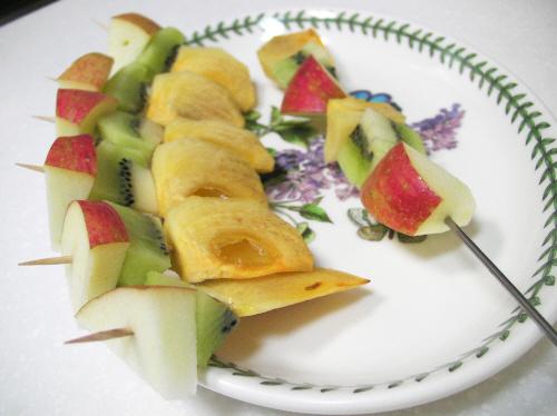 초간단 과일꼬치