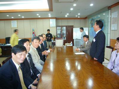 2008' 협의회 자매 도시 제주 방문