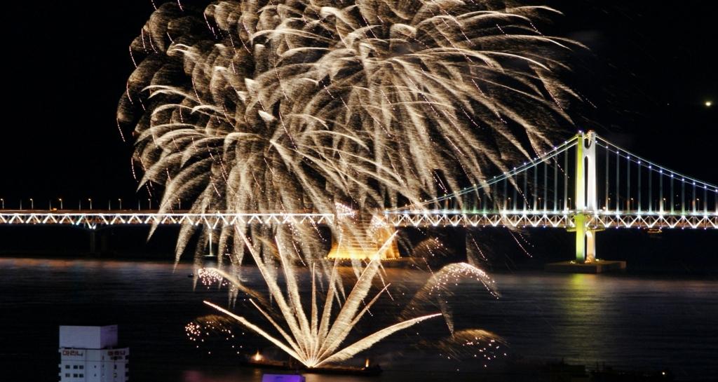 부산불꽃축제 사진