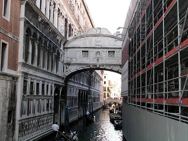 이탈리아의 물의 도시 베네치아