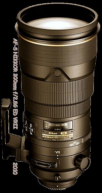AF-S NIKKOR 300mm F2.8G ED VR∥