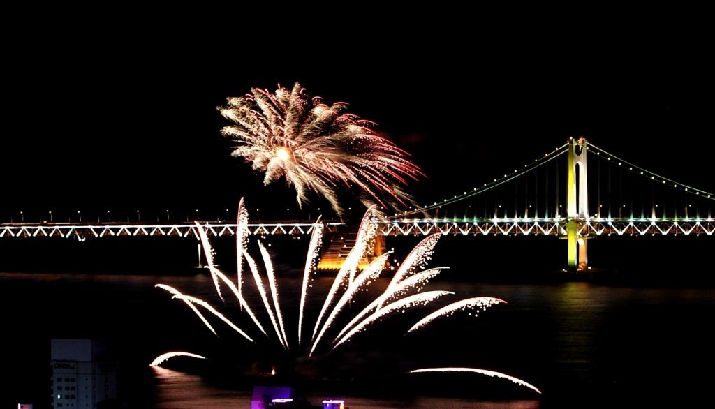 제6회 부산불꽃축제 사진