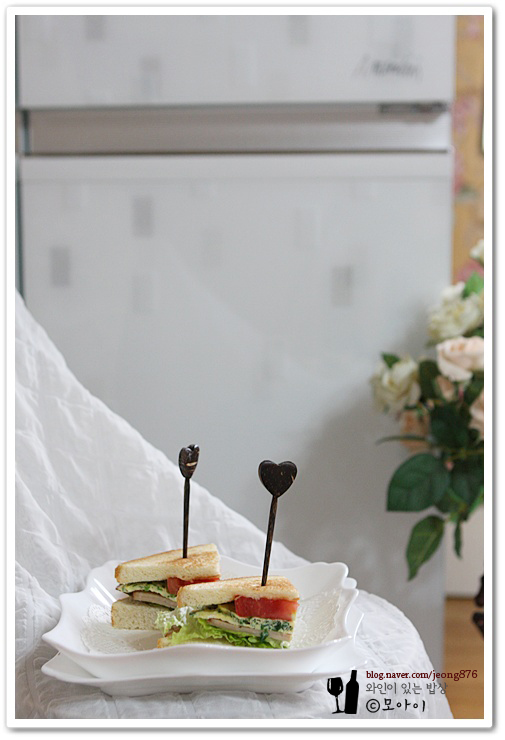 나른한봄- 남편의 정력을 깨우는 샌드위치가 있다? 정력증강에 좋은 부추 샌드위치