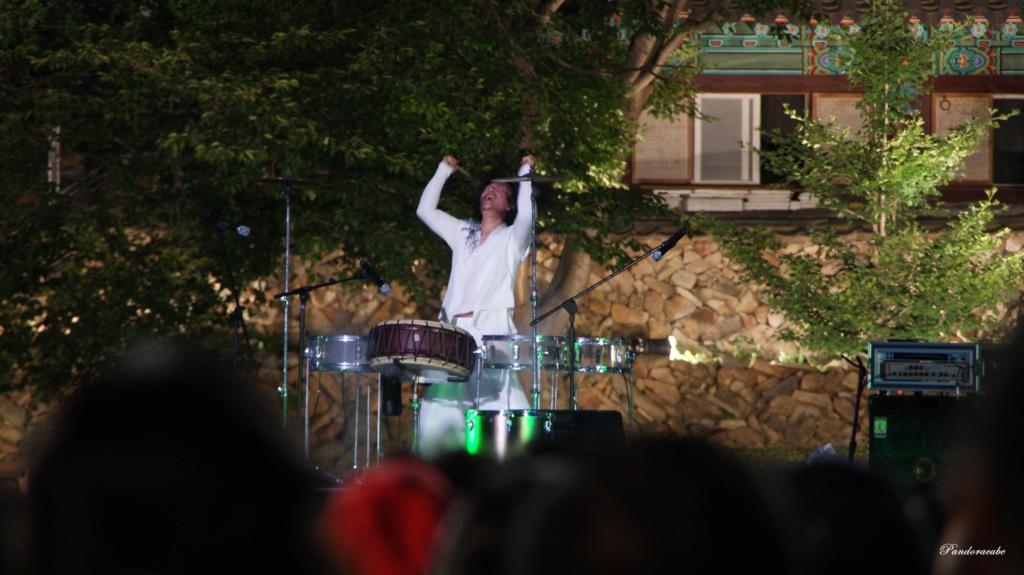 산사음악회 난타