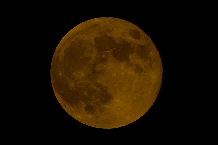 보름달..